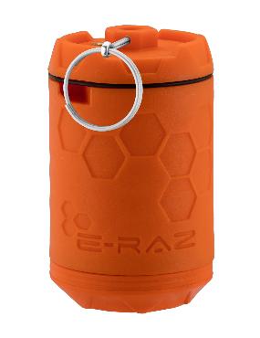 GRENADE A GAZ E-RAZ ORANGE.