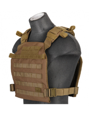 GILET TACTICAL PORTE PLAQUE...