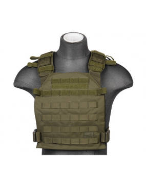 GILET TACTICAL PORTE PLAQUE OD