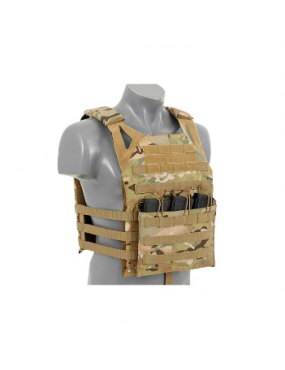 GILET PORTE PLAQUE MULTICAM