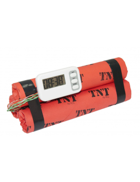 FAUSSE BOMBE BZ12 TNT ROUGE