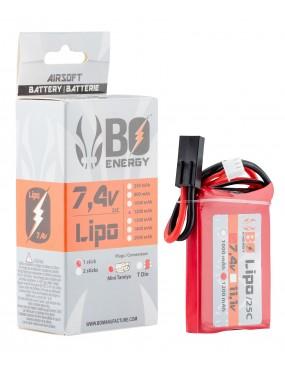 BATTERIE LIPO BO 7.4V 1200...